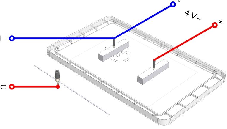 Das elektrische Feld im Plattenkondensator - Digital