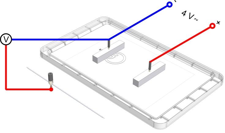 Das elektrische Feld im Plattenkondensator