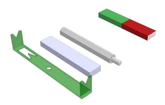 Magnetische und nichtmagnetische Stoffe