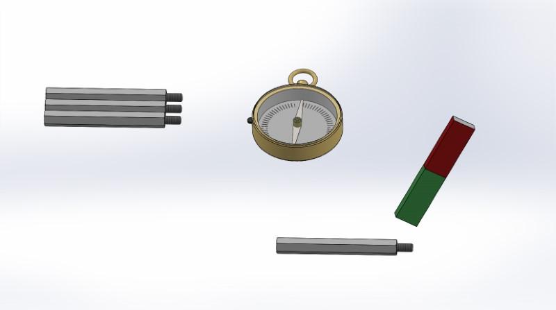 Zerlegen von Magneten