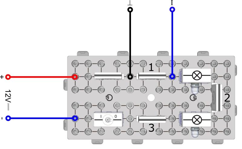 Messung der Stromstärke im einfachen Stromkreis - Digital