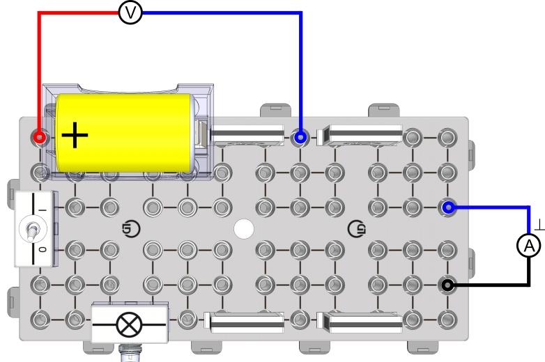 Reihen- und Parallelschaltung von Monozellen