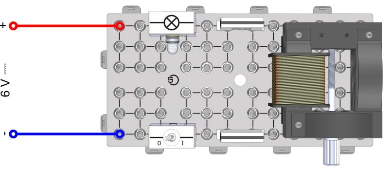 Gleich- und Wechselstromwiderstand einer Spule I (Beobachtungsversuch)