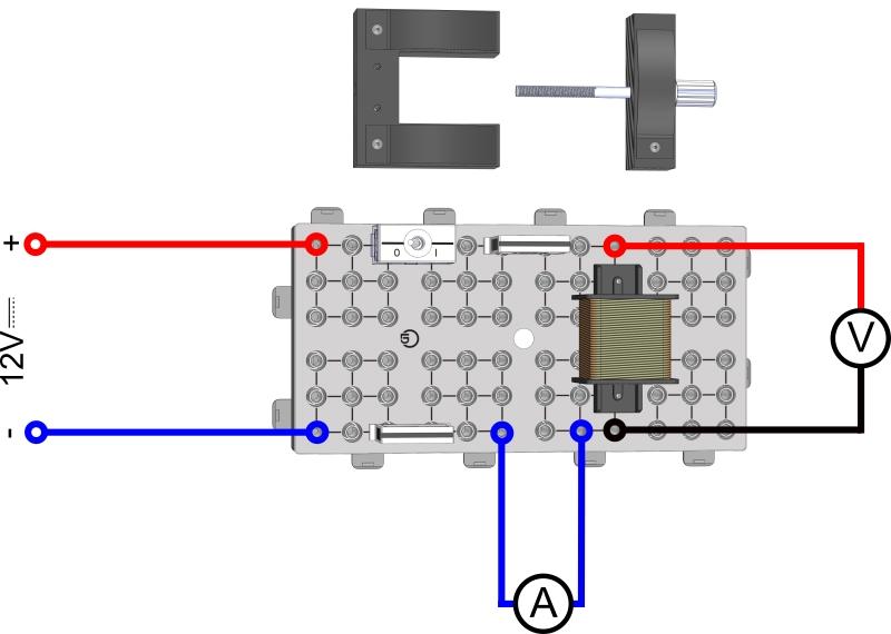 Gleich- und Wechselstromwiderstand einer Spule II (Messversuch)