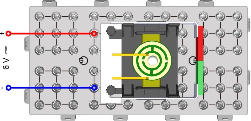 Gleichstrommotor - Funktionsprinzip