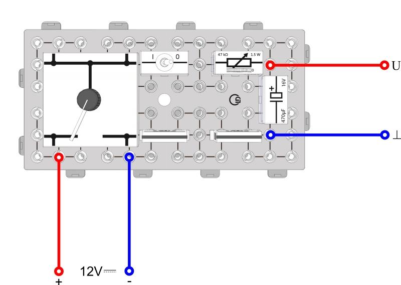 Der Kondensator im Gleichstromkreis - Digital