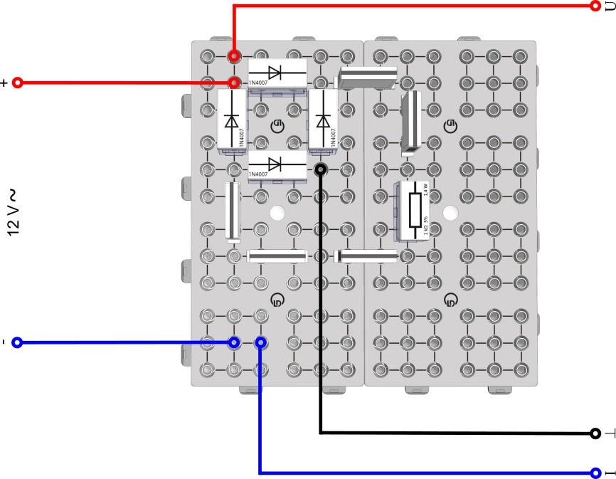 Brücken-Gleichrichtung - Digital