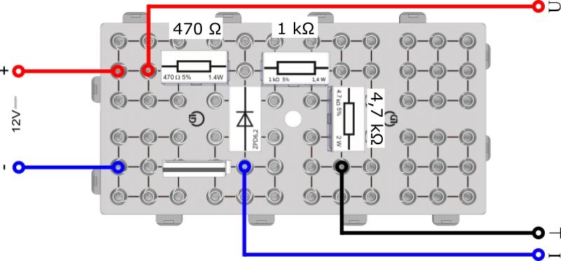 Spannungsbegrenzung durch Dioden und Transistoren - Digital