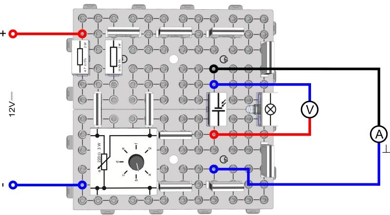 Durchlass- und Sperr-Richtung einer Solarzelle