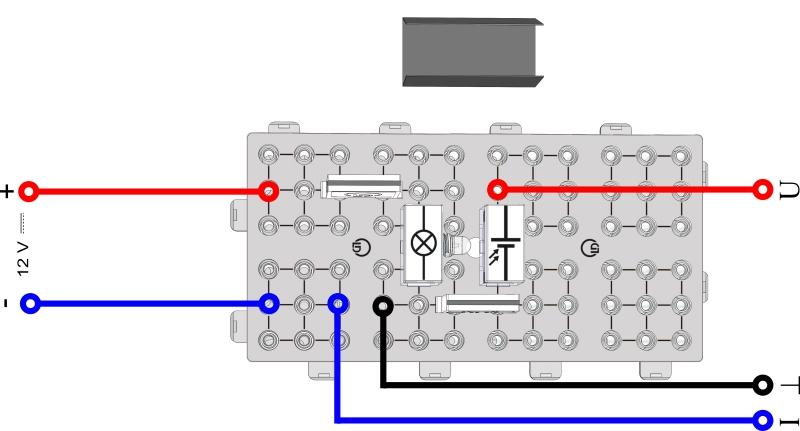 Leerlaufspannung einer Solarzelle - Digital