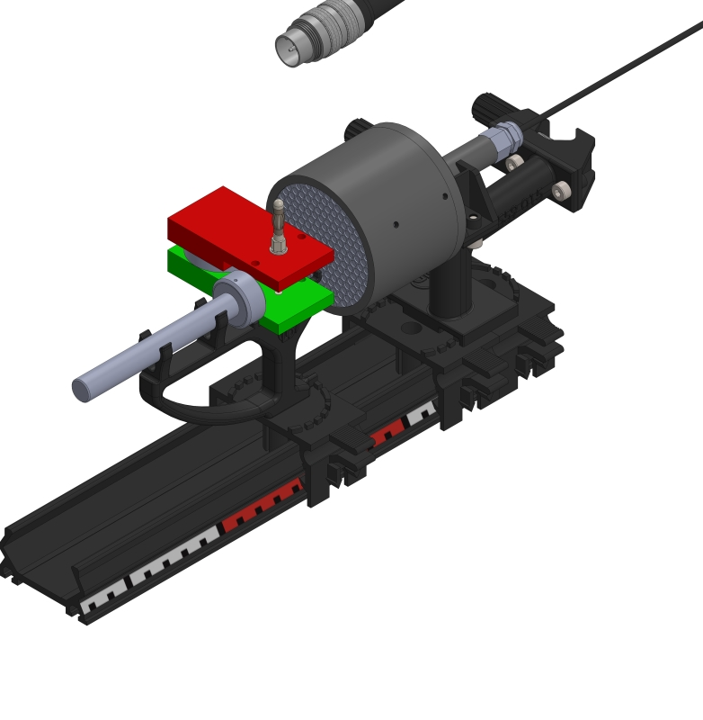Einfluss eines Magneten auf ß-Strahlung - Digital