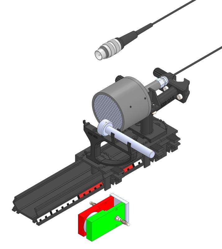 Nutzung des Einflusses eines Magneten auf ß-Strahlung - Digital