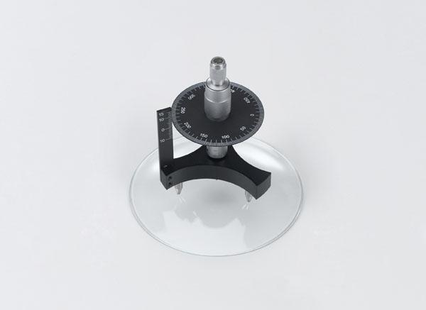 Handhabung eines Sphärometers zur Bestimmung von Krümmungsradien