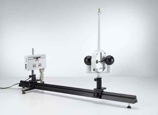 Bestimmung der Gravitationskonstante mit der Gravitations-Drehwaage nach Cavendish - Aufzeichnung der Auslenkungen und Auswertung mit IR Position Detector und PC