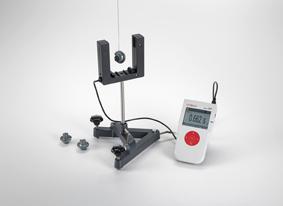 Bestimmung der Fallbeschleunigung mit einem Mathematischen Pendel - Messung mit Lichtschranke