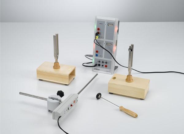 Akustische Schwebungen - Aufzeichnung mit CASSY