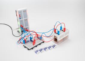 Fourier-Analyse an einem elektrischen Schwingkreis