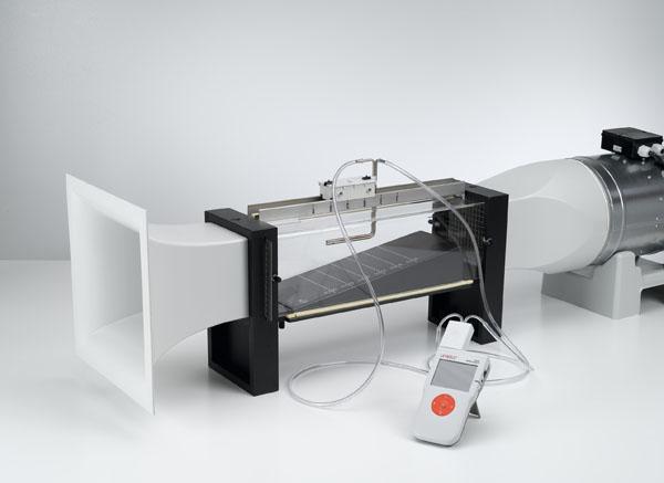Überprüfung der Bernoulli-Gleichung - Messung mit Drucksensor und CASSY