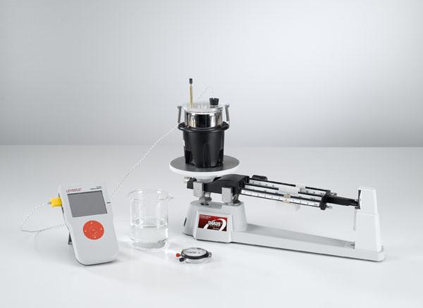 Mischungstemperatur von Wasser - Messung mit Mobile-CASSY