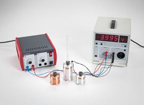 Umwandlung von elektrischer Energie in Wärmeenergie - Messung mit dem Joule- und Wattmeter