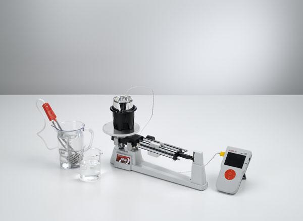 Bestimmung der spezifischen Schmelzwärme von Eis - Messung mit Mobile-CASSY