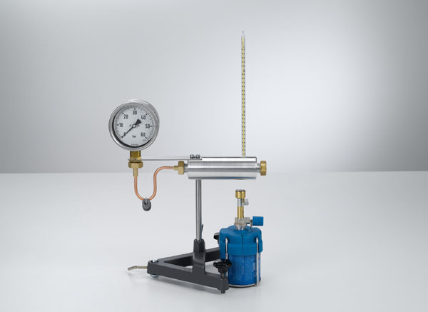 Aufzeichnung der Dampfdruckkurve von Wasser - Drücke bis 50 bar