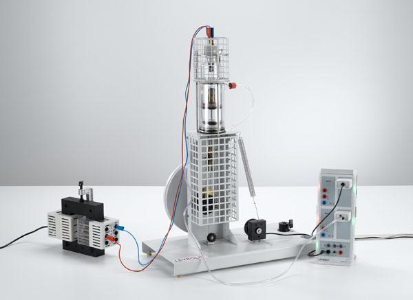 pV-Diagramm des Heißluftmotors als Wärmekraftmaschine - Aufzeichnung und Auswertung mit CASSY