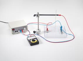 Darstellung der Äquipotentiallinien elektrischer Felder