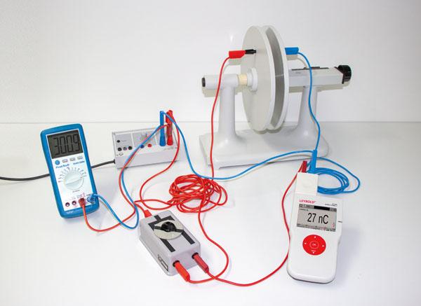 Bestimmung der Kapazität eines Plattenkondensators - Ladungsmessung mit dem I-Messverstärker D