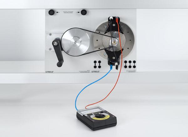 Erzeugung von Wechselspannung mit einem Innenpolgenerator (Dynamo) und einem Außenpolgenerator