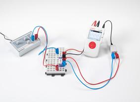 Bestimmung des kapazitiven Widerstandes eines Kondensators im Wechselstromkreis - Messung mit Mobile-CASSY