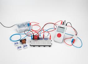Bestimmung des Wechselstromwiderstandes in Stromkreisen mit Kondensatoren und Spulen - Messung mit Mobile-CASSY
