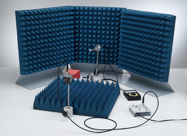 Richtcharakteristik einer Helix-Antenne - Aufzeichnung von Hand