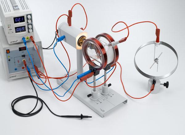 Glühemission im Vakuum: Bestimmung der Polarität und Abschätzung der spezifischen Ladung der emittierten Ladungsträger