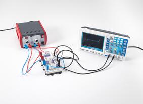 Aufzeichnung der Kennlinien eines als Photodiode geschalteten Phototransistors