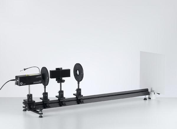 Lloydscher Spiegelversuch mit einem He-Ne-Laser
