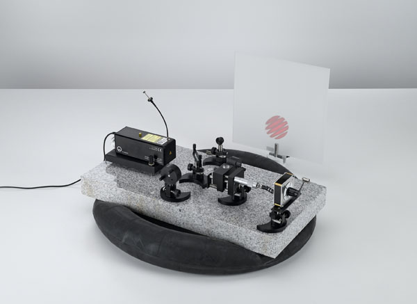 Bestimmung der Wellenlänge eines He-Ne-Lasers mit einem Michelson-Interferometer
