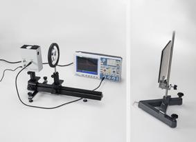 Bestimmung der Lichtgeschwindigkeit in Luft aus Laufweg und Laufzeit eines kurzen Lichtimpulses