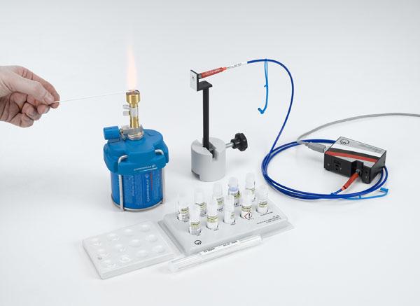 Aufnahme der Emissionsspektren bei einer Flammenfärbung