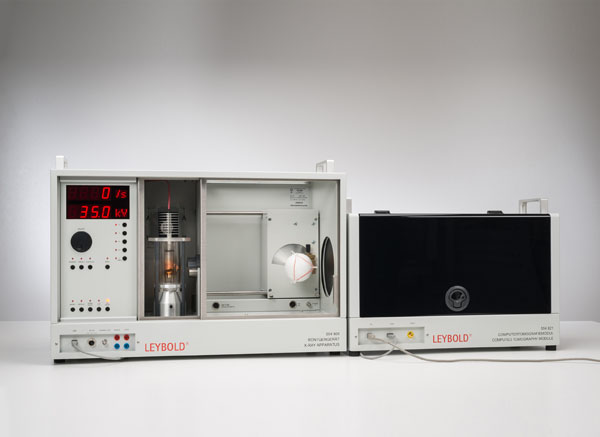 Aufnahme und Darstellung eines Computertomogramms mit dem Computertomografiemodul