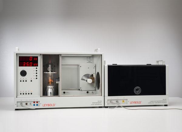 Bestimmung von Absorptionskoeffizienten und Hounsfield-Units mittels Computertomografie mit dem Computertomografiemodul