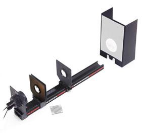 Geometrische Optik auf der Präzisions-Metallschiene