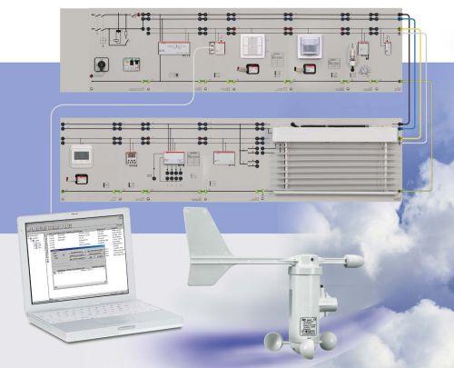 Beleuchtungsmanagement mit EIB/KNX mit ETS5