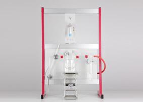 Qualitative Wassersynthese mit Stativmaterial