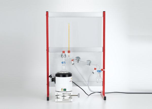Reinigung einer Substanz mit Wasserdampfdestillation