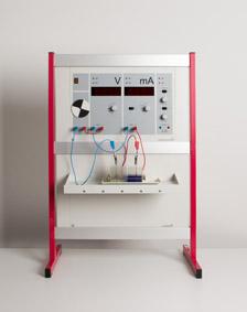 Einfluss der Elektrolytkonzentration auf ein galvanisches Element