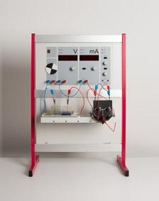 Aufnahme von Kennlinien galvanischer Elemente - mit dem Demogerät Elektrochemie
