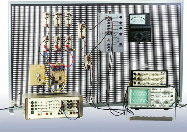 Ü 10 Leistungselektronik, Komplettaustattung (Modulsystem)